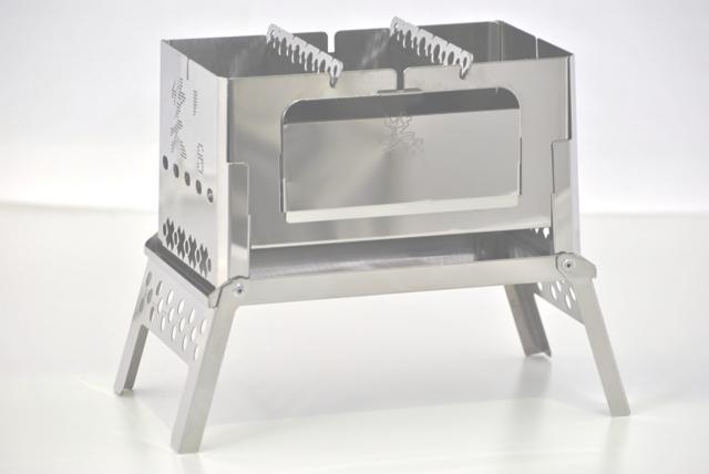 Lol s compact bonfire grill B-6-kun SHO-0004 13872 568 fromJAPAN